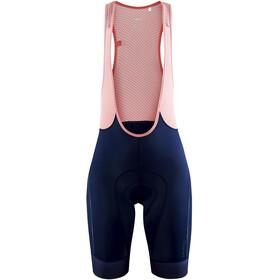 Craft ADV Endur Bib Shorts Women, blaze/coral